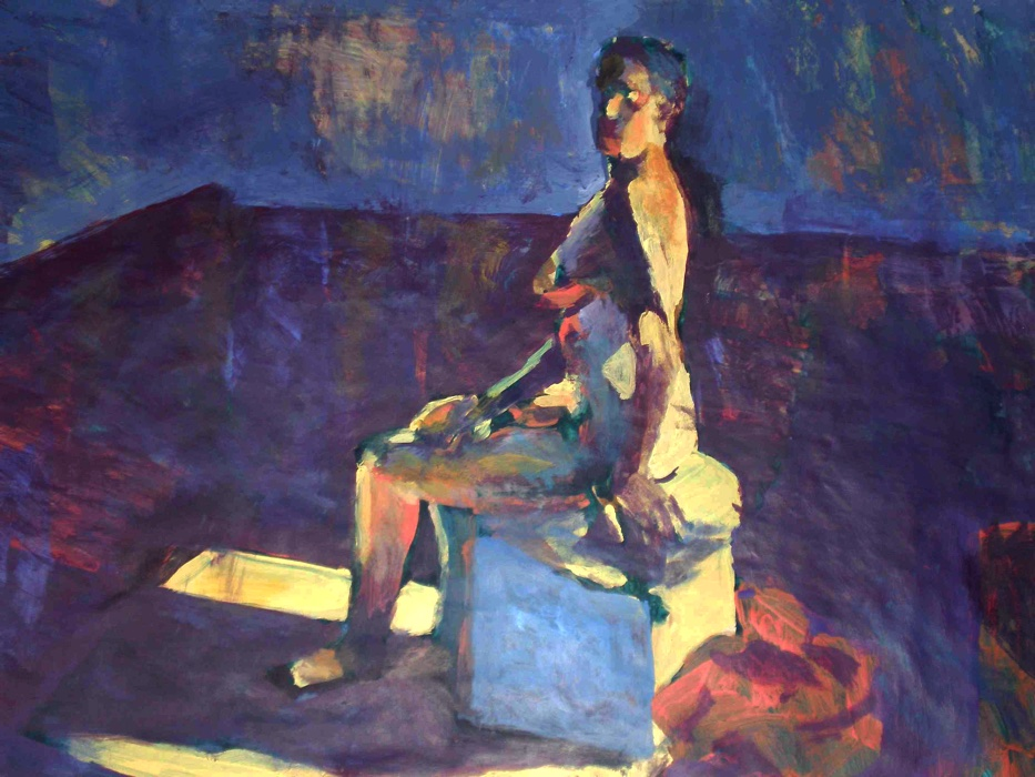 Woman in Studio